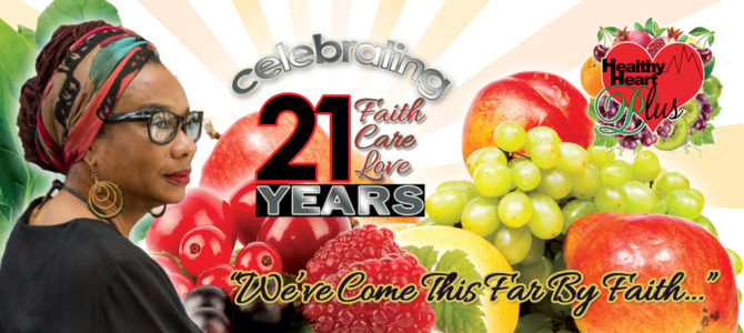 Celebrating 20 Years of Faith, Care & Love